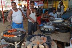 Полная кухня воздуха на верблюде Pushkar справедливом Стоковая Фотография RF