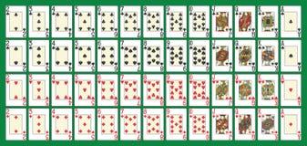 Полная палуба покера Стоковое фото RF