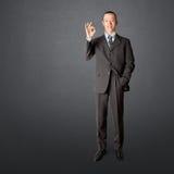 Полнометражный азиатский мужчина дела Стоковые Фото