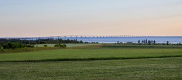 Полнометражный мост конфедерации Стоковое Изображение RF