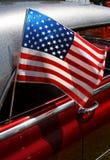полностью американский автомобиль Стоковое Изображение