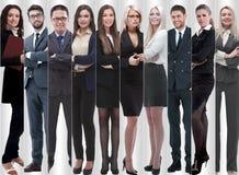 Полностью рост современные успешные бизнесмены стоковое изображение rf