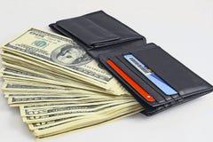 полный бумажник Стоковые Изображения RF