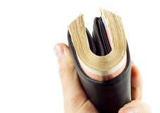 полный бумажник Стоковое фото RF