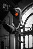 Полный стоп! - Keleti Trainstation, Будапешт - Стоковые Изображения RF