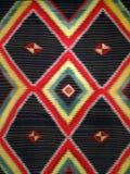 Половик одеяла ромбовидного узора Стоковые Изображения
