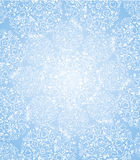 Половик цветков светлого хлопка от снежинок Стоковая Фотография