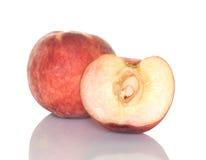 половинная белизна персика Стоковое Фото
