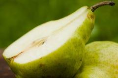 половинная груша Стоковые Фото