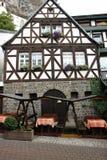 половинная timbered дом Стоковое Изображение RF