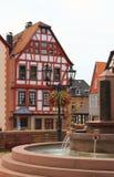 половинная timbered дом Стоковое Фото