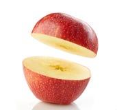 Половинное яблоко Стоковые Изображения RF