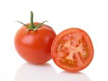 половинные томаты томата Стоковые Изображения RF