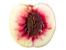 половинный камень персика Стоковое Изображение