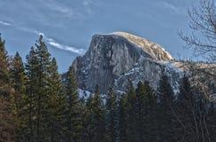 Половинный купол на национальном парке Yosemite Стоковое фото RF