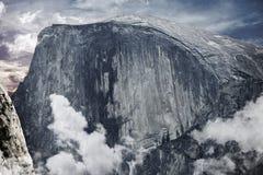 Половинный купол Yosemite Стоковое Изображение