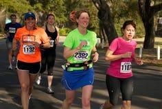 половинный марафон Стоковая Фотография