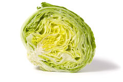 половинный салат айсберга Стоковое Фото