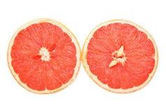 половины грейпфрута выреза стоковое изображение rf