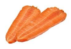 половины моркови стоковые фото