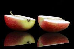 половины яблока Стоковая Фотография RF