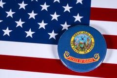 Положение Айдахо в США стоковое изображение