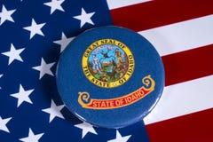 Положение Айдахо в США стоковая фотография rf