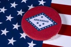 Положение Арканзаса в США Стоковые Фото