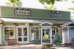 положение Гавайских островов Стоковые Изображения RF