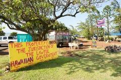 положение Гавайских островов Стоковые Фотографии RF