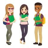 Положение группы студентов Стоковая Фотография RF