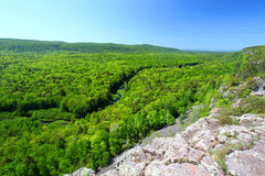 положение дикобраза парка гор Стоковое Фото