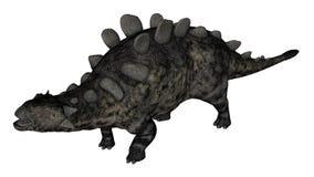 Положение динозавра Chrichtonsaurus - 3D представляют стоковое фото