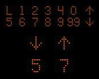 положение индикатора лифта Стоковые Изображения RF