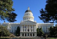 положение капитолия california стоковые изображения rf