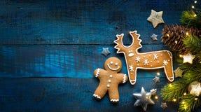 Положение квартиры орнамента праздников рождества; Предпосылка рождественской открытки Стоковое Фото