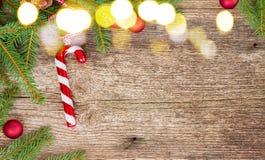 Положение квартиры рождества ввело сцену в моду Стоковая Фотография RF