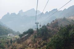 Положение кино ЮНЕСКО Zhangjiajie, Китая avartar Стоковое Фото