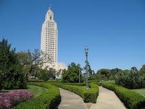 положение Луизианы капитолия здания Стоковое Изображение RF