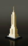 положение модели империи здания Стоковое Изображение
