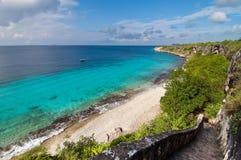 положение наземного ориентира bonaire карибское Стоковые Фотографии RF