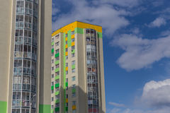 положение Норвегия Осло жилого дома Multistoried самомоднейшее и стильное живущее здание апартаментов сбывание ренты домов кварти Стоковая Фотография RF
