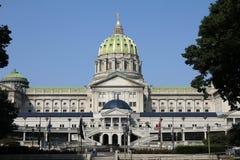 положение Пенсильвании капитолия Стоковое фото RF