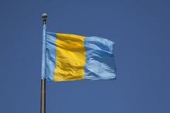положение Пенсильвании флага стоковая фотография rf
