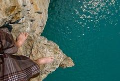 положение скалы Стоковая Фотография RF