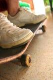 положение скейтборда Стоковая Фотография