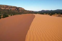 положение США Юта песка пинка парка kanab дюн коралла Стоковое Изображение