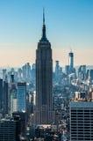положение США york manhattan империи здания новое Стоковые Изображения RF