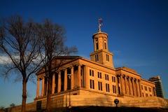 положение Теннесси капитолия Стоковые Фото