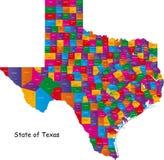 Положение Техас иллюстрация вектора